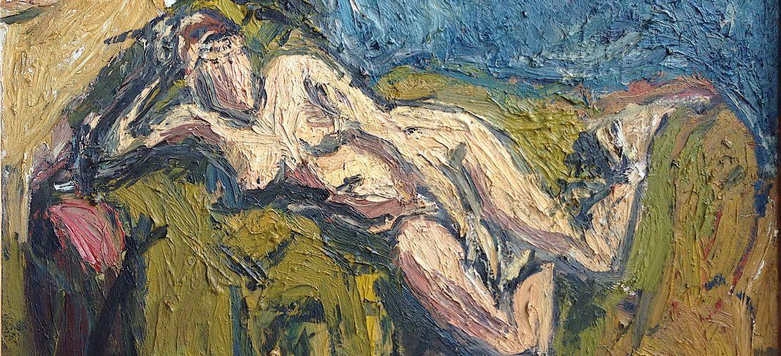 'Reclining Nude' (1991). Oil on Canvas. 92cm x 74cm POA.