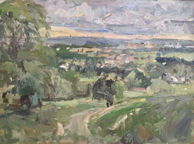 'Duxon Hill' (2010). Oil on Canvas. 76cm x 101cm. SOLD