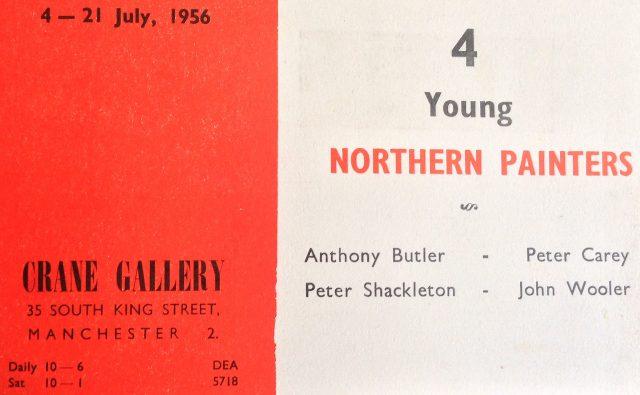 Crane Gallery Exhibition July 1956