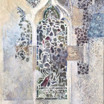 'Stained Glass Window'. Oil on Canvas. 76cm x 61cm. POA
