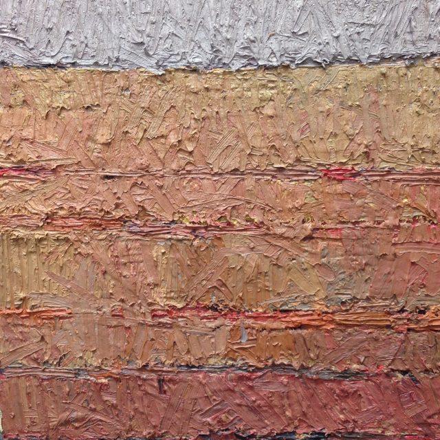 'The Distant Landscape'. 40cm x 35cm. Oil on Board. POA