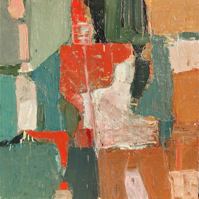 'Seafront' (2010). Oil on Board. 61cm x 61cm. POA