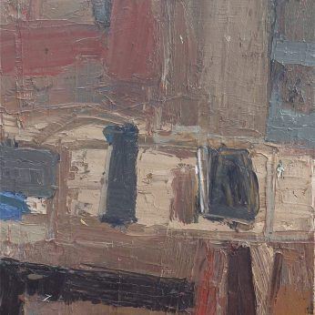 'Still Life on Table' (2008). Oil on Canvas. 38cm x 35cm POA