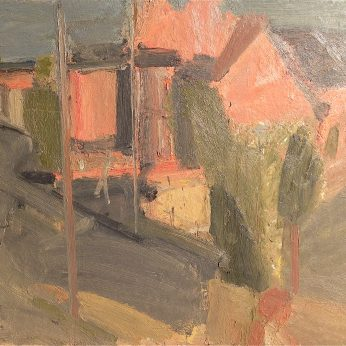 'Evening Sun' (1992). Oil on Board. 92cm x 102cm. POA