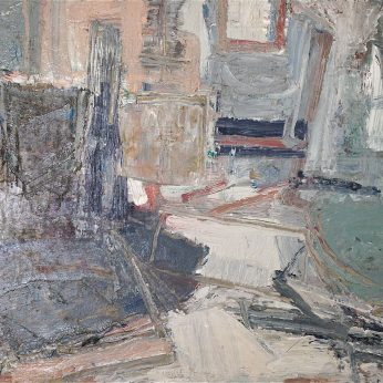 'Still Life III' (2009). Oil on Board. 40cm x 65cm. SOLD