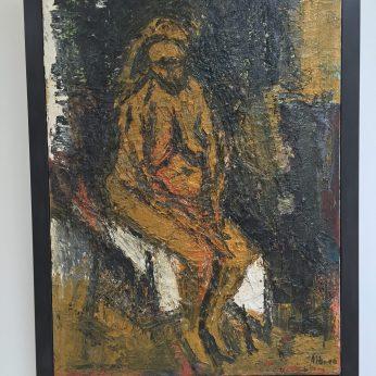 'Nude Sitting'.