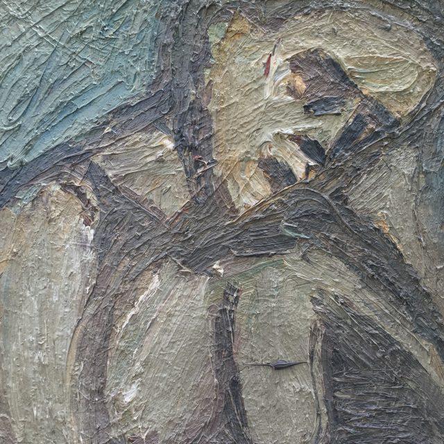 'Portrait of Saskia' (1986). Oil on Board. 60cm x 48cm. POA