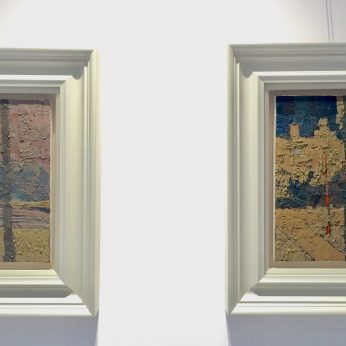'Central Park - Dawn' and 'Central Park - Dusk' (2015). SOLD