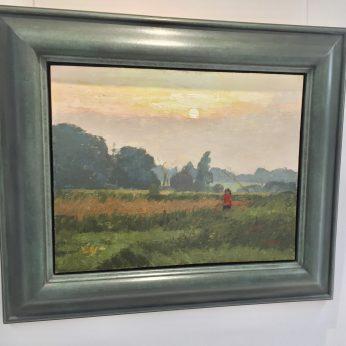'Sunset in Suffolk'.
