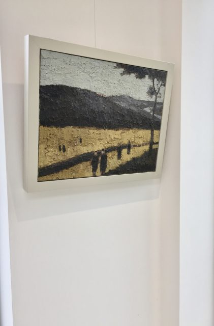 'Figures in a Hilly Landscape'. SOLD