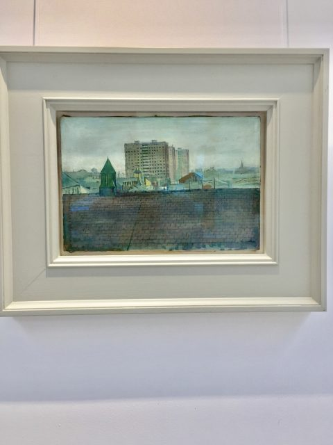 'The New Flats' by James Neal. SOLD
