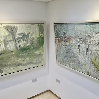 'Winter Houses' (1996) & 'By the Seafront' (1994 - SOLD).