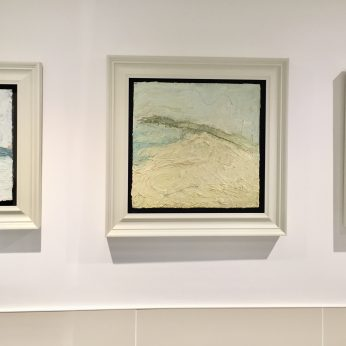 'Small Grey Headland' (2005), 'Hawk Point' (1991 - SOLD) & 'Mounts Bay' (2007 - SOLD).