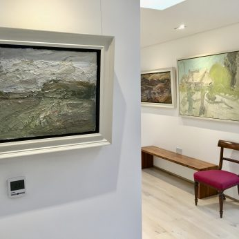 'Small Landscape' (2009) & 'Summer Morning' (1996).