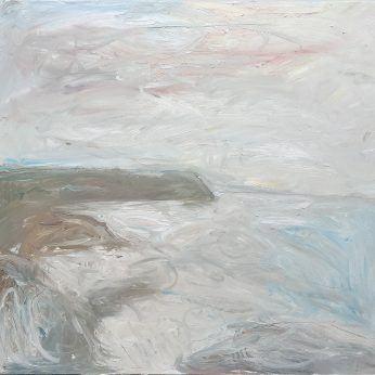 'February Headland' (2007). Oil on Canvas. 140cm x 152cm. SOLD