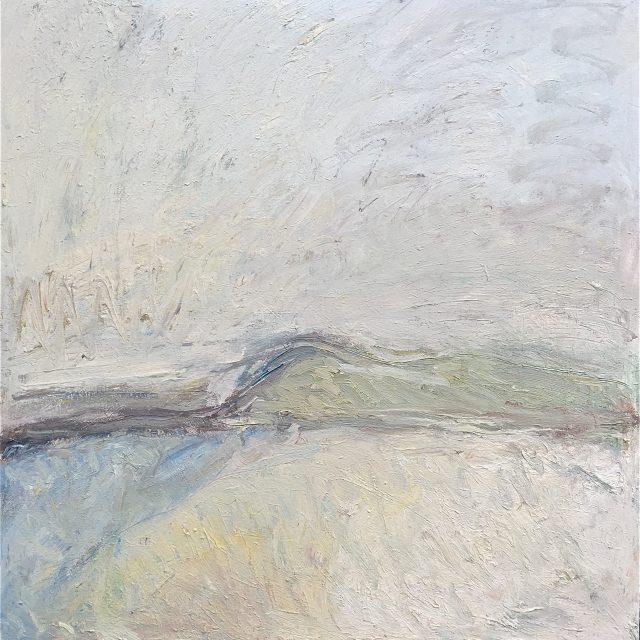 'Perranuthnoe Beach' (2005). Oil on Canvas. 122cm x 122cm. POA