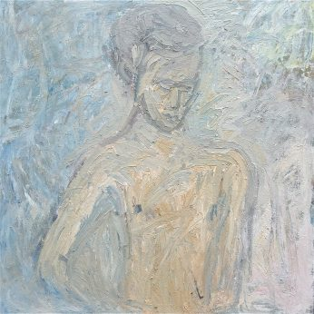 'Portrait of Theo' (2005). Oil on Canvas. 122cm x 122cm. POA