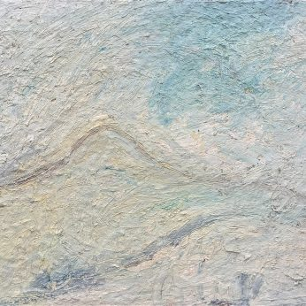 'Yar to Dartmoor' (2002). Oil on Board. 67cm x 79cm. POA