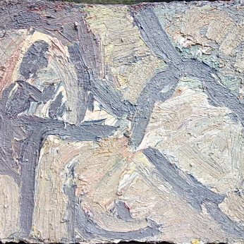 'Reclining Nude - Susan' (1997) Oil On Board. 46cm x 61cm POA