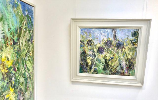 'Sunflowers' (2016). Oil on Canvas. 50cm x 60cm. SOLD