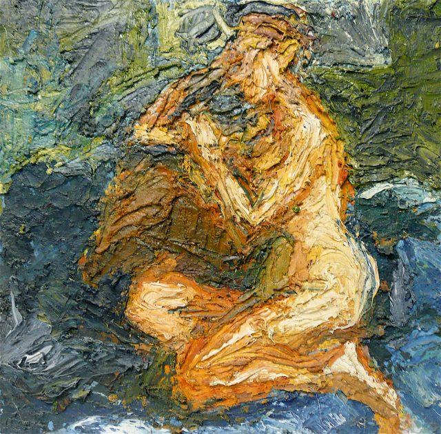 'Kneeling Nude'. SOLD