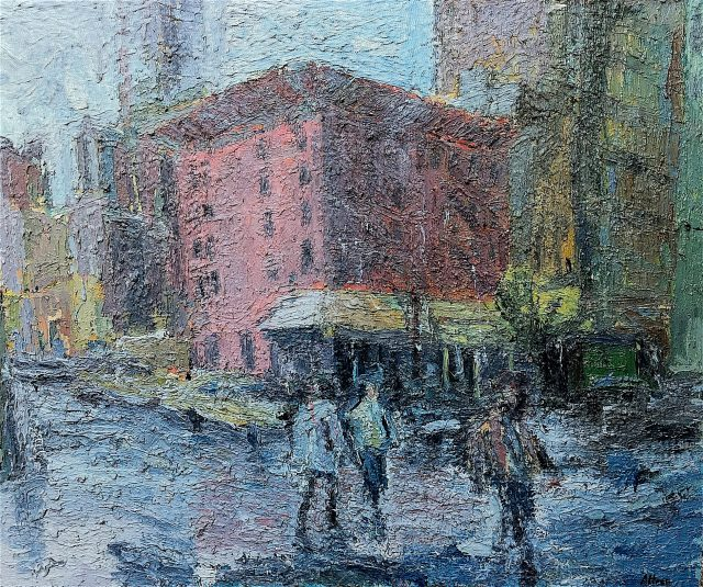 'New York Taxis'. SOLD