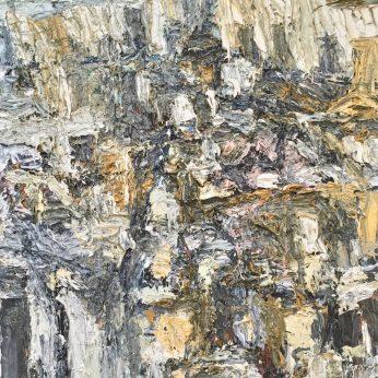 'Manhattan - View Down the Island.' (1995). Oil on Canvas. 84cm x 60cm. POA