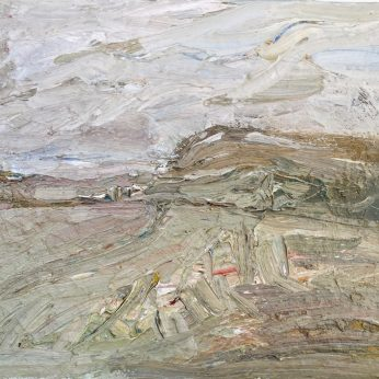 'Small Landscape' (2009). Oil on Canvas. 41cm x 51cm. POA