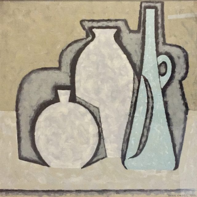 'Still Life Composition' (1960). Oil on Board. 49cm x 49cm. POA