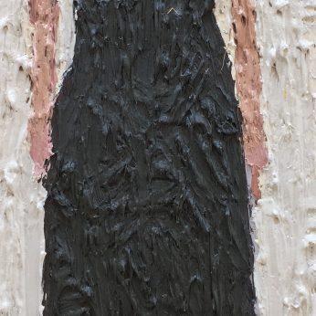 'Woman II'. Oil on Board. 36cm x 13cm. SOLD
