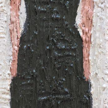 'Woman III'. Oil on Board. 36cm x 13cm. SOLD