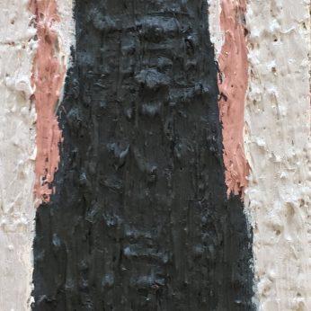 'Woman X'. Oil on Board. 36cm x 13cm. SOLD