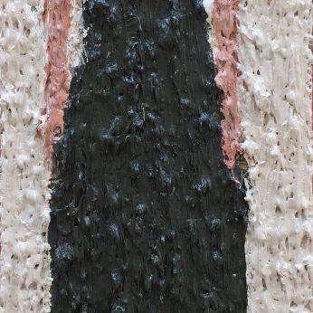 'Woman XII'. Oil on Board. 36cm x 13cm. SOLD