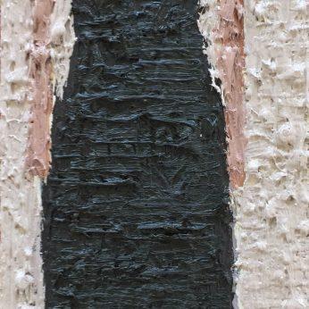 'Woman XIV'. Oil on Board. 36cm x 13cm. SOLD