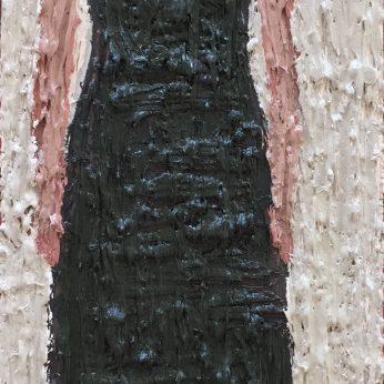 'Woman XV'. Oil on Board. 36cm x 13cm. SOLD