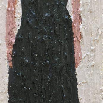 'Woman XVII'. Oil on Board. 36cm x 13cm. SOLD