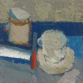 'Still Life with Knife'. SOLD