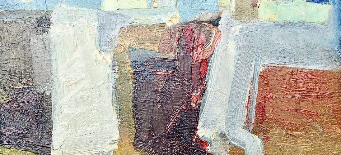 'Summer Conversation' (2011). Oil on Canvas. 30cm x 35cm. POA