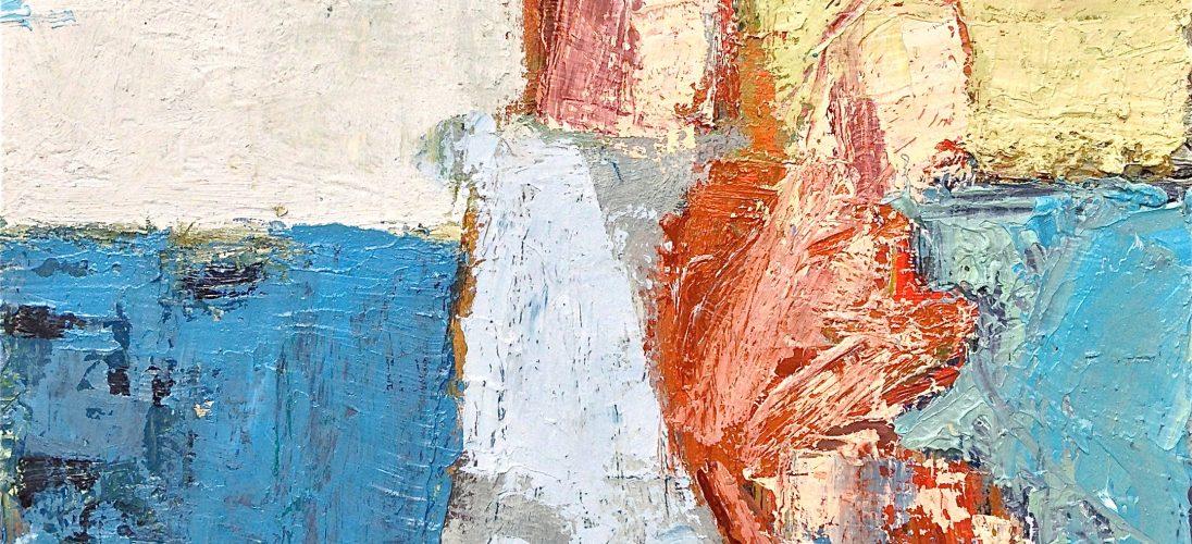 'Under the Pier' (2010). Oil on Canvas. 30cm x 30cm. POA