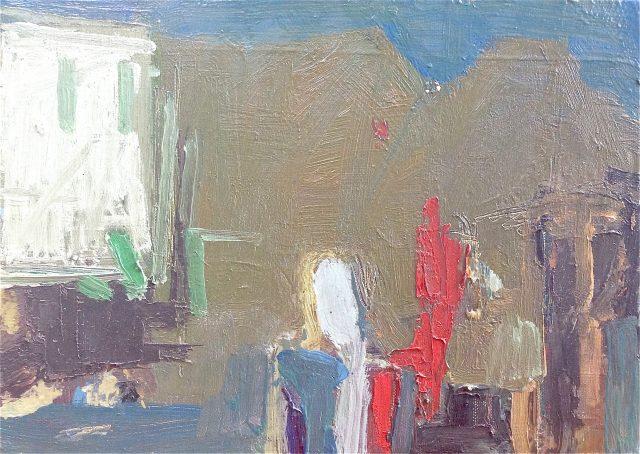 'Summer at En Olivier II' (2014). Oil on Canvas. 26cm x 36cm. £500