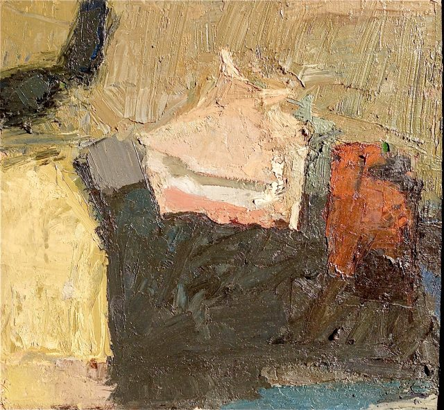 'Still Life with Shell.' Oil on Board. 65cm x 60cm. Please Enquire