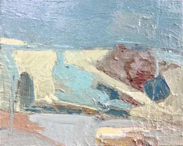 'French Landscape' (2012). Oil on Canvas. 33cm x 41cm. POA