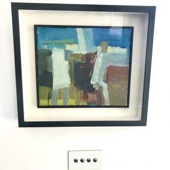 'Summer Conversation' (2011). 30cm x 35cm. Oil on Canvas. POA