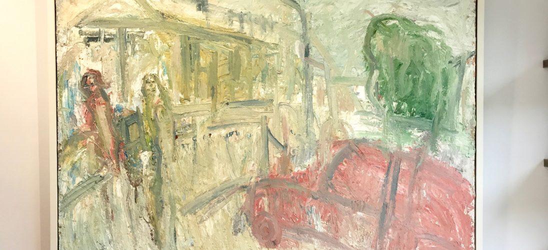 'Newlyn Art Gallery Terrace II' (1992). 153cm x 184cm. POA