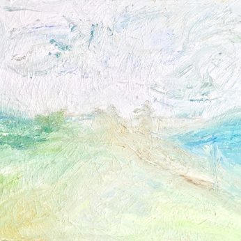 'Summer Landscape' (2009). Oil on Canvas. 71cm x 92cm. POA