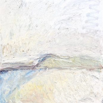 'Perranuthnoe Beach' (2005). Oil on Canvas. 122cm x 122cm. POA