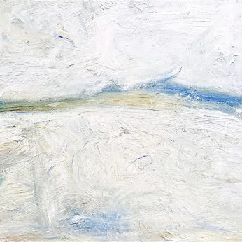 'Winter Saltings' (2015). Oil on Board. 91cm x 122cm. POA