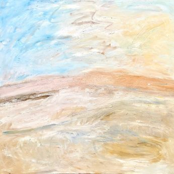 'Across the Mire, Dartmoor. (2008). Oil on Canvas. 140cm x 153. POA