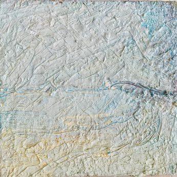 'Gwithian Sands' (2004). Oil on Board. 31cm x 31cm. POA