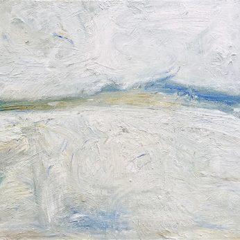 'Winter Saltings' (2015). Oil on Board. 91cm x 122cm. POA